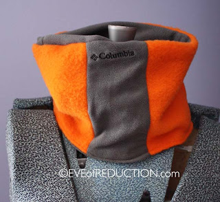 Upcycle: Sweatpants to Fleece Neck Warmer