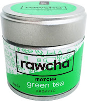 Rawcha ceremonial grade matcha green tea