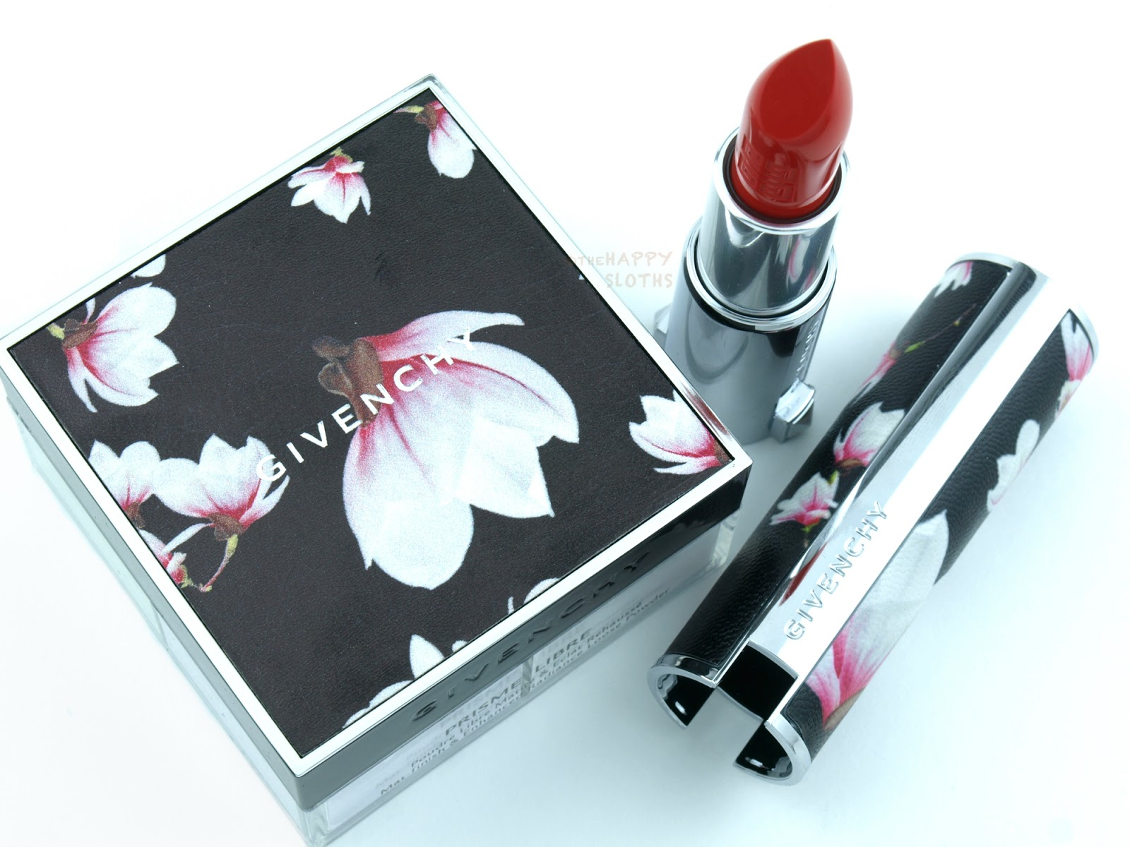 Givenchy 2016 Edition Couture Le Rouge Lipstick & Prisme Libre Loose Powder: Review and Swatches