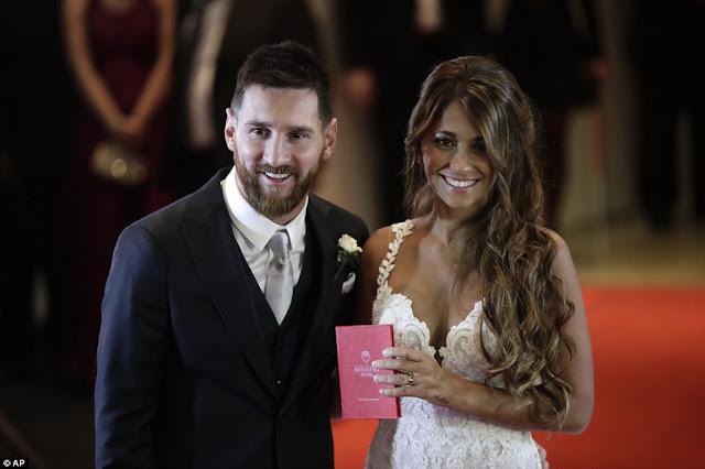 Messi and Antonella wedding