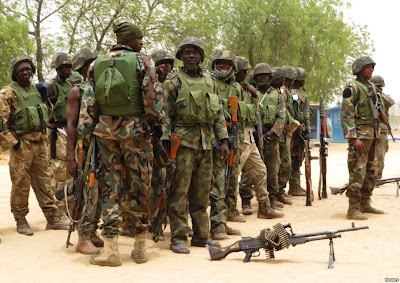 borno state soldiers fight jets