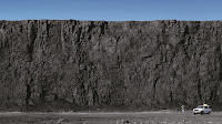 Great wall of... coal? (Photo Credit: Peabody Energy, Inc.) Click to Enlarge.