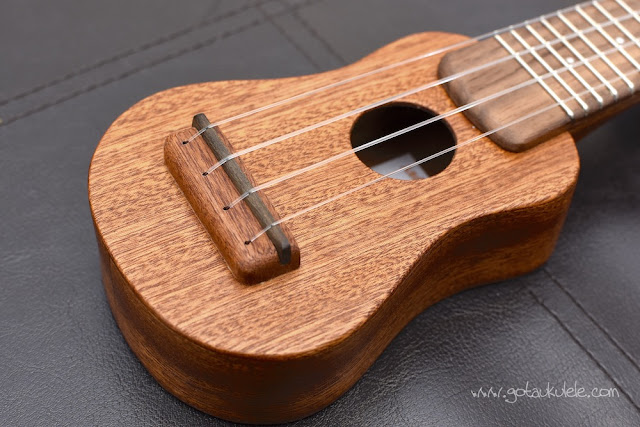Andy's Ukuleles Nano body