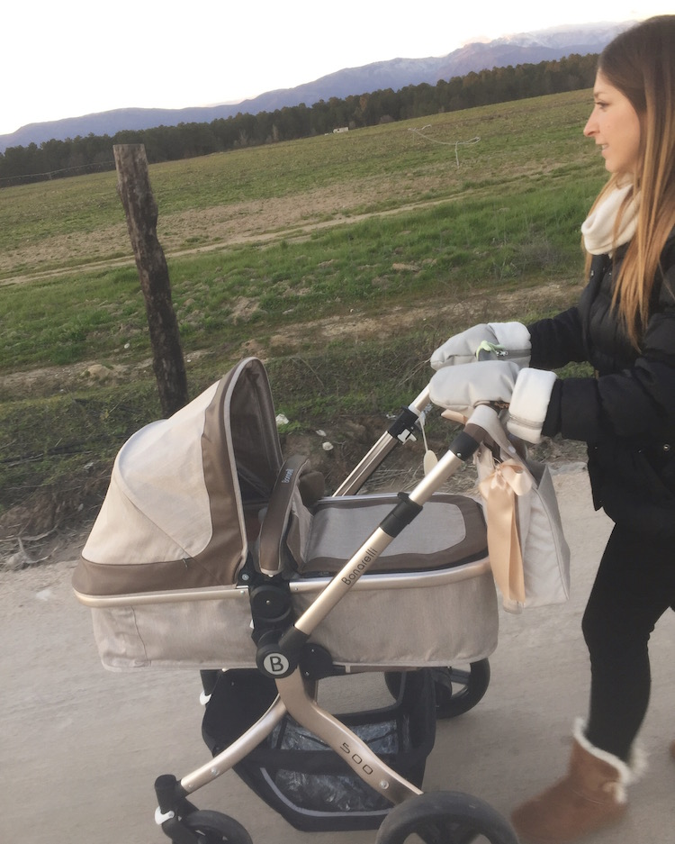 manoplas para carrito bebe