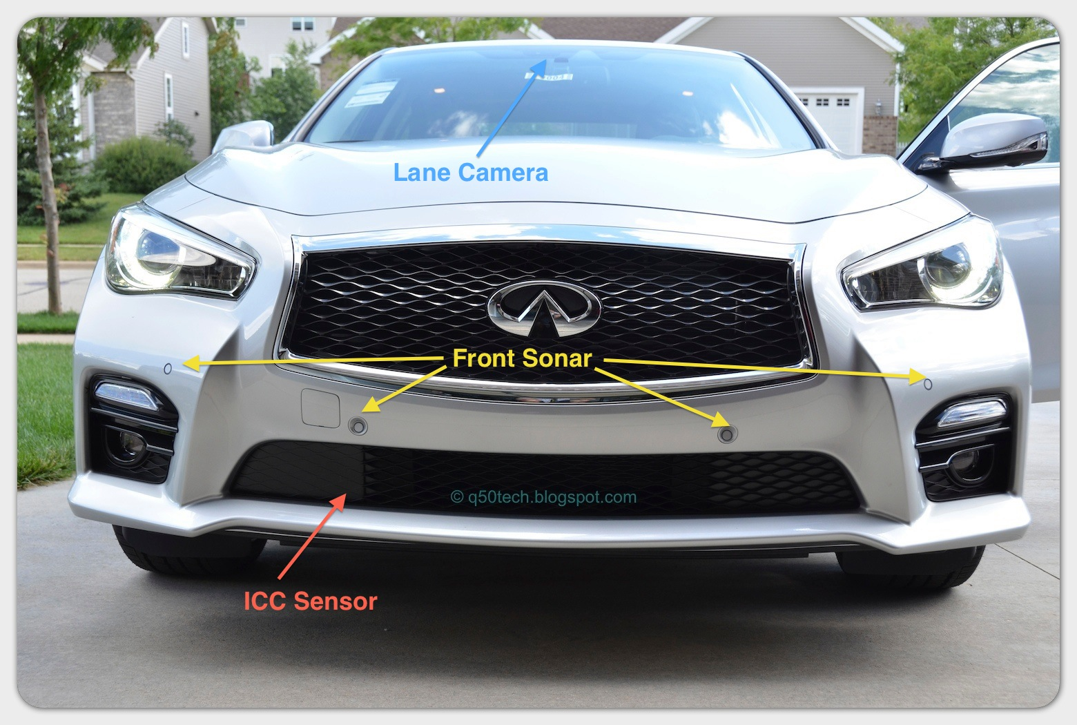 2015 Infiniti Q50 Wiring Diagram Library Technical Operational Blog Safety Driver Aids In Front Sensors