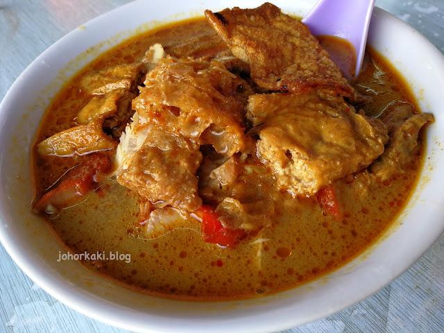 Botak-Curry-Mee-Kluang-摩达咖喱面