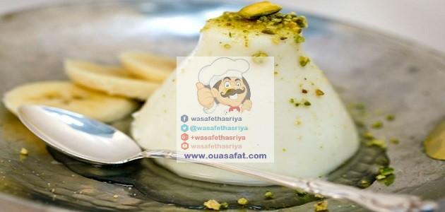 القشطلية بالأرز اللبنانية
