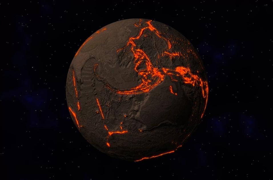 GEOLOGIA: E' mistero sull'enorme quantità di acqua che sparisce dentro la Terra.