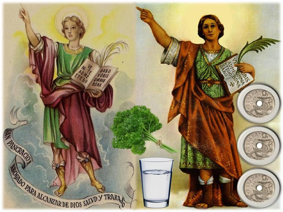 Oraciones Y Leyendas Piadosas San Pancracio Su Oración Y Ofrenda Del Perejil Para Pedir Salud Y Trabajo