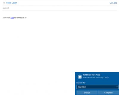 cara aktifkan pengingat pada Windows 10