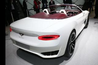 أول سيارة بنتلي في العالم لا تحتاج إلى الوقود