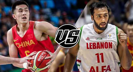 Live Streaming List: China vs Lebanon 2019 FIBA World Cup Qualifiers Asia 5th Window