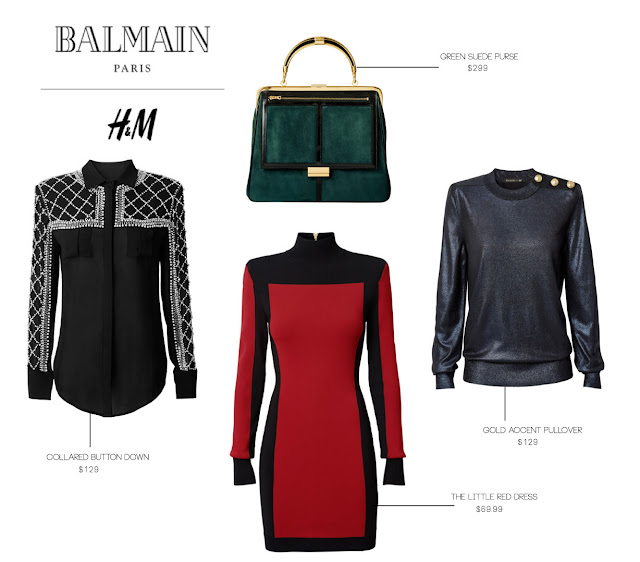 Balmain x HM | The perfect pieces are hitting stores soon.