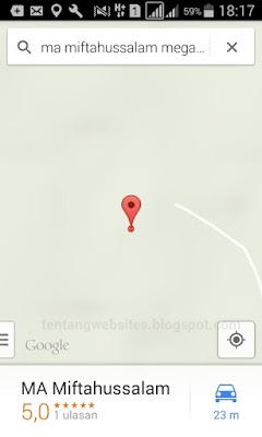 Cara agar gambar tampil di google map