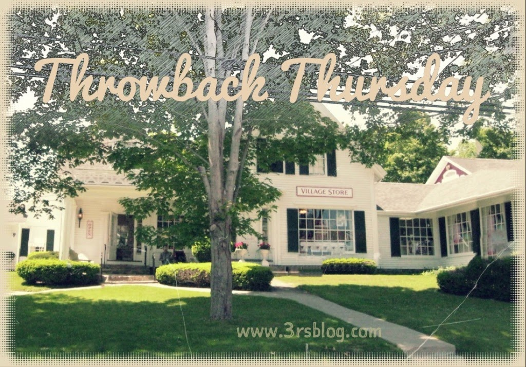 throwback thursday 3rsblog