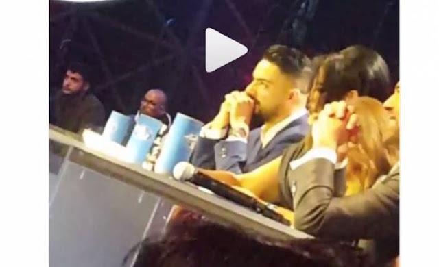 فيديو مسرّب من حلقة 'Arab Idol ' لم تشاهدوه على الشاشة أزمة على طاولة التحكيم خلال غناء المشترك الفلسطيني يعقوب شاهين