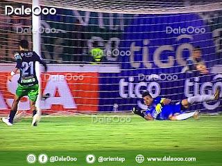 Ronaldo Sánchez anota el gol del empate de Oriente Petrolero sobre Universitario en Sucre - DaleOoo