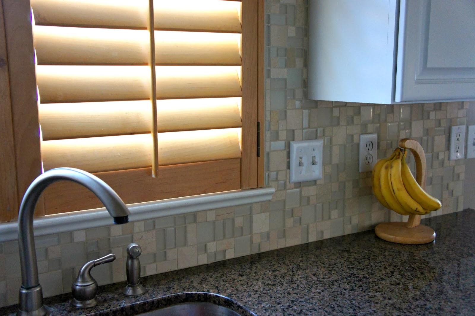 glass tile splash sink pretty glass tile backsplash slightly glitzier alternative