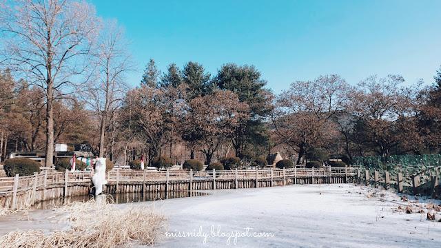 travelling ke korea selatan saat winter