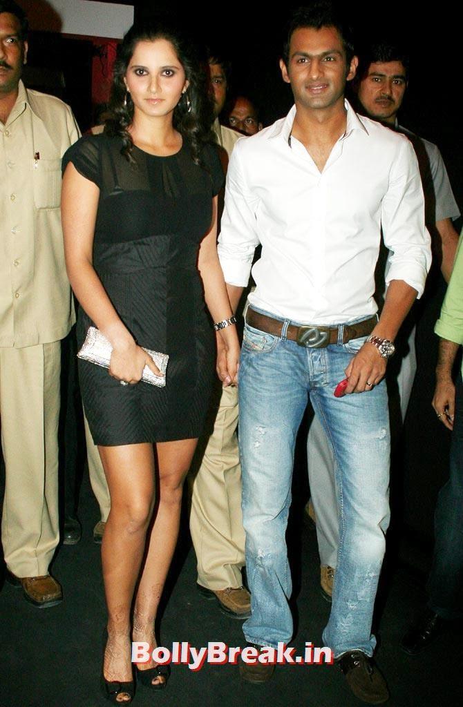 Sania Mirza with her husband, Shoaib Malik, Sania Mirza Controversial Past Pics