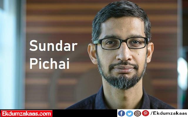 Sundar Pichai Biography
