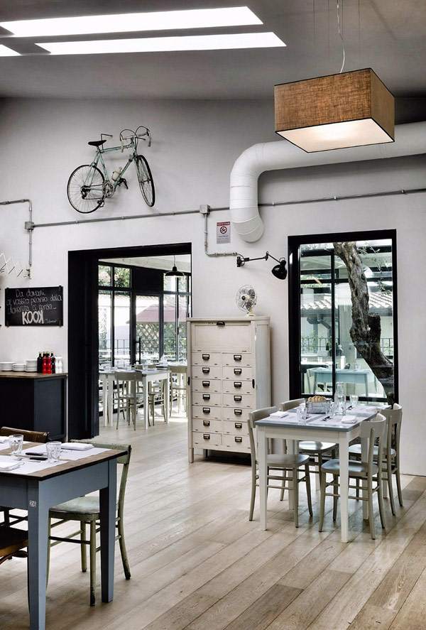 Decor me restaurante kook una pizzeria de estilo for Roma interior design