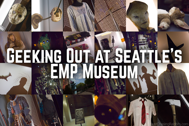 Geeking Out at Seattle's EMP Museum