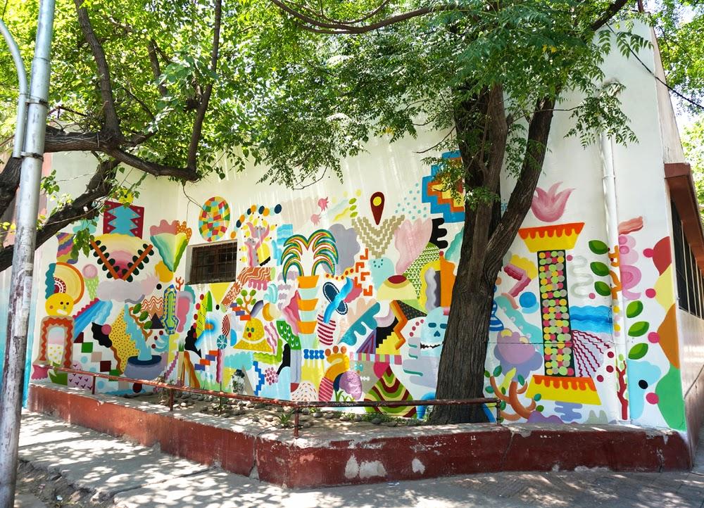 Zosen and Mina Hamada are also in Mendoza, Argentina for the latest edition of the Muropolis Street Art Festival.