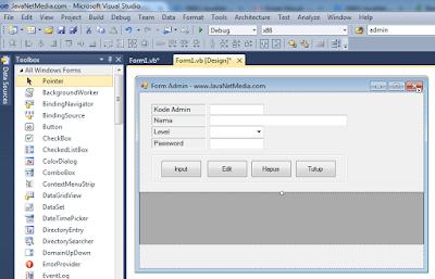 VB .Net - Cara Memunculkan Data Pada ComboBox