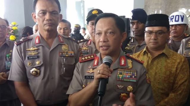 Jenderal Tito: Polri Menganggap Polemik Senjata Tak Perlu Berlanjut