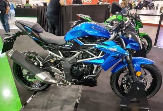 Kawasaki Z125 tahun 2018