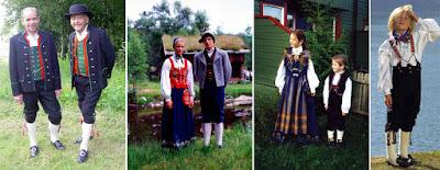 Tradiciones noruegas - El traje tradicional noruego