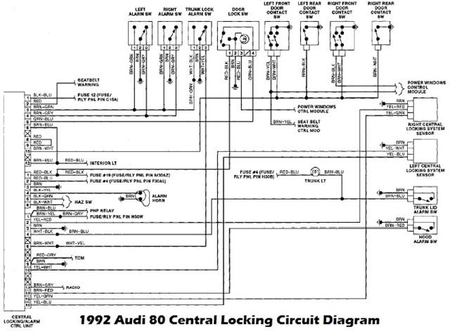 96 Jeep Grand Cherokee Factory Amp Wiring Diagram 1992 Audi 80 Lock And Alarm Control Unit Wiring Diagram