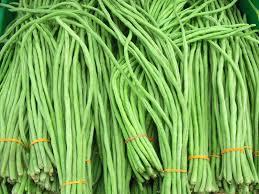 buah kacang panjang