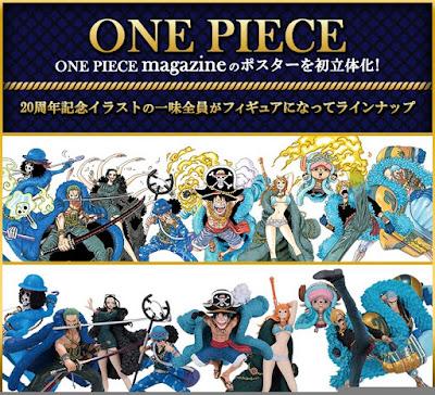 Ichibankuji One Piece 20th Anniversary  - Banpresto