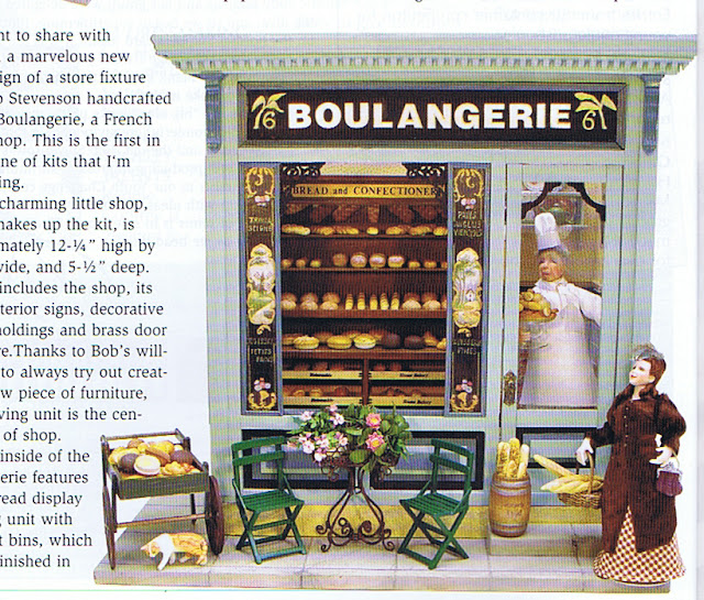 dollhouse miniature boulangerie