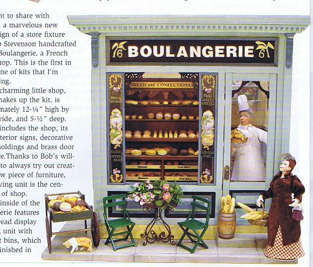 dollhouse miniature boulangerie