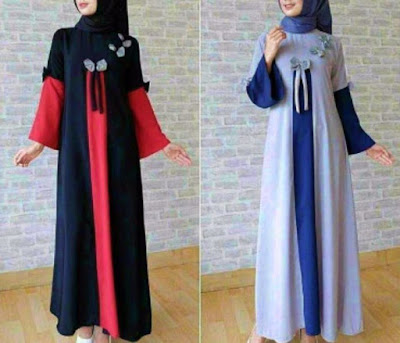 hijab bahan wolfis