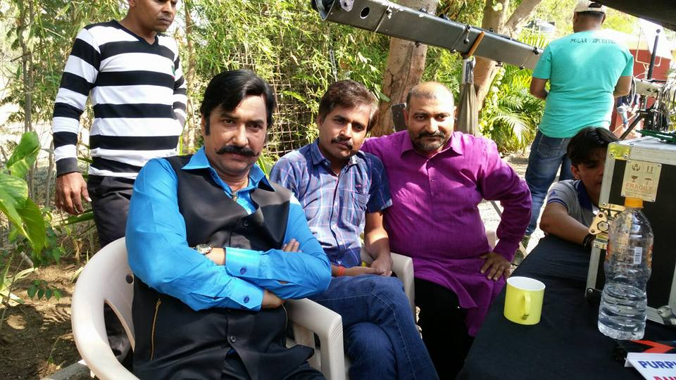 ON Set of Bam Bam Bol Raha Hai Kashi  Bhojpuri Film Shooting photo