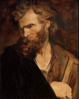 Nomes bíblicos estrangeiros masculinos com T - Imagem: Judas Tadeu - Anthonis van Dyck