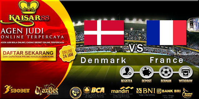 Prediksi Bola Jitu Denmark vs France 26 Juni 2018