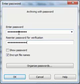 Cara Memberi Password Winrar