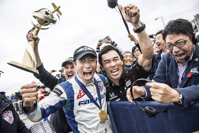 Pilot Yoshihide Muroya aus Japan stellte bei seinem letzten Air Race auf dem Weg zum Weltmeister 2017 einen Streckenrekord auf.