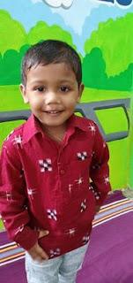 Sambalpuri dress for kids boys