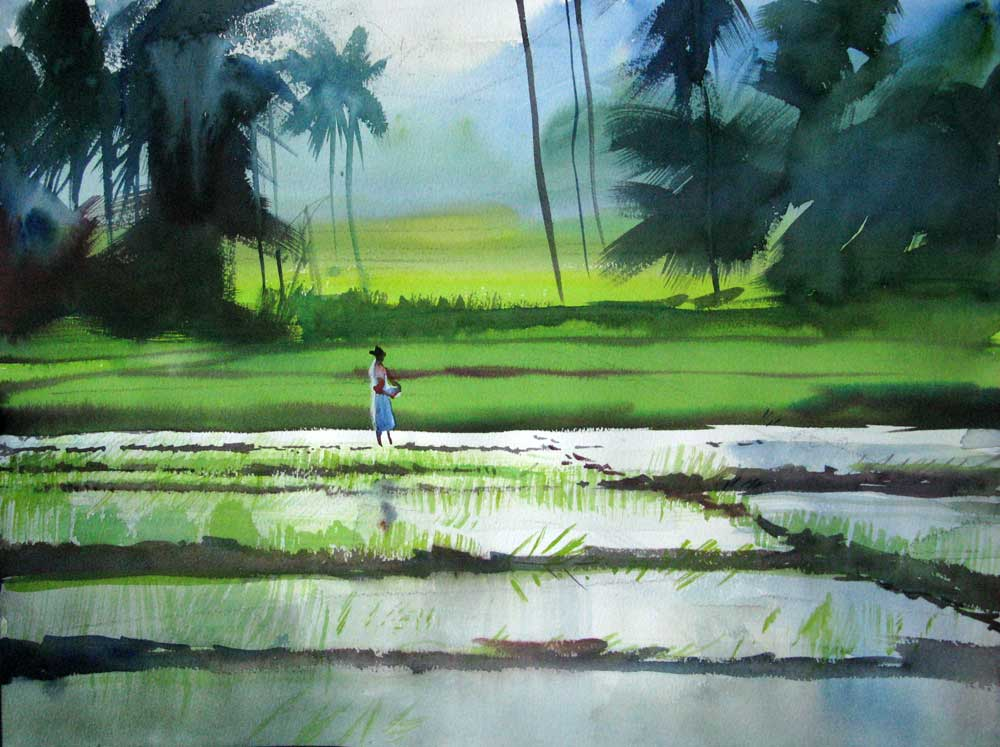 12 Beautiful Paintings by Milind Mulick - Fine Art and You