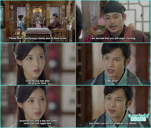 9th prince call hae soo mistress- Moon Lovers Scarlet Heart Ryeo - Episode 19