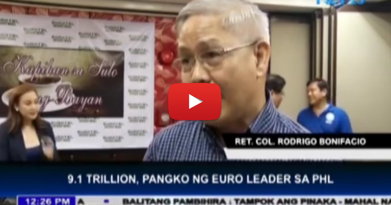euro leaders to invest 9.1 trillion euro to the philippines
