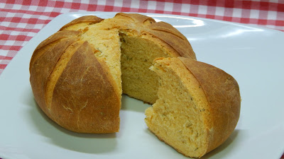 Receta fácil de pan de jimote o tomate