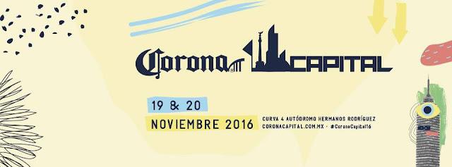 artistas corona capital 2016