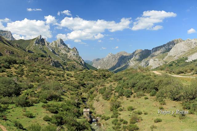 Ruta del Lago del Valle, Saliencia